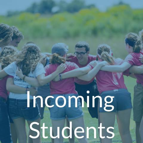 Click for Incoming Student Information
